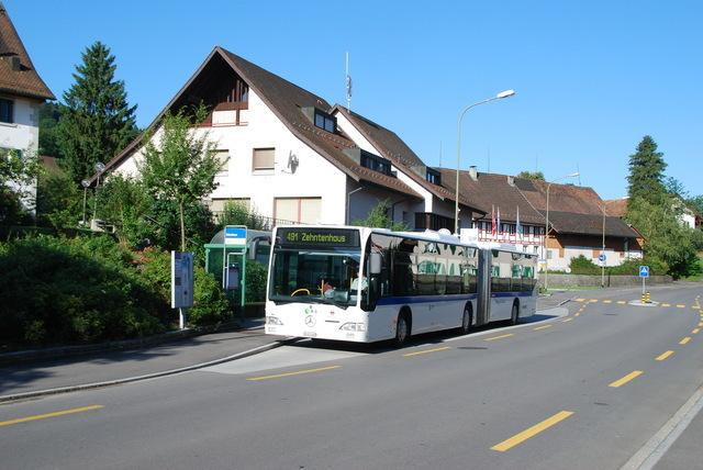 Bushaltestelle Gemeindehaus